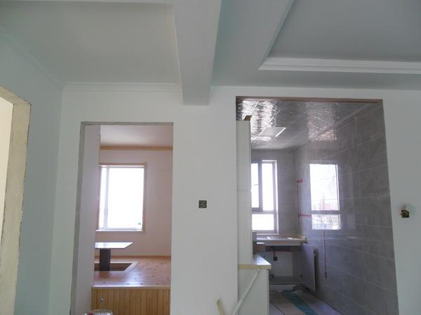 客厅与阳台衔接处的欧式造型